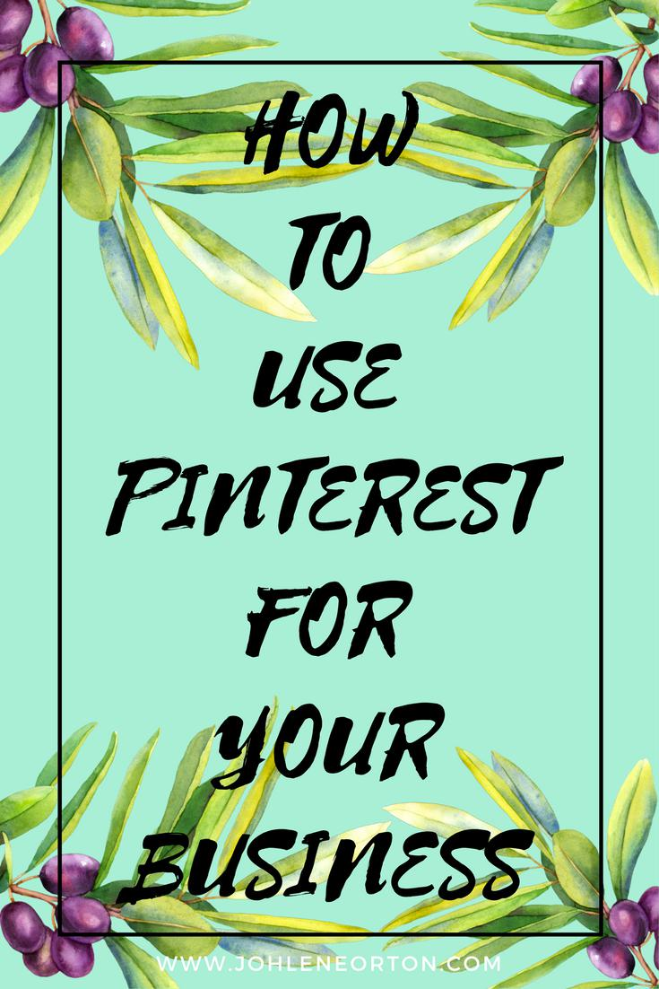 Using Pinterest For Your Business