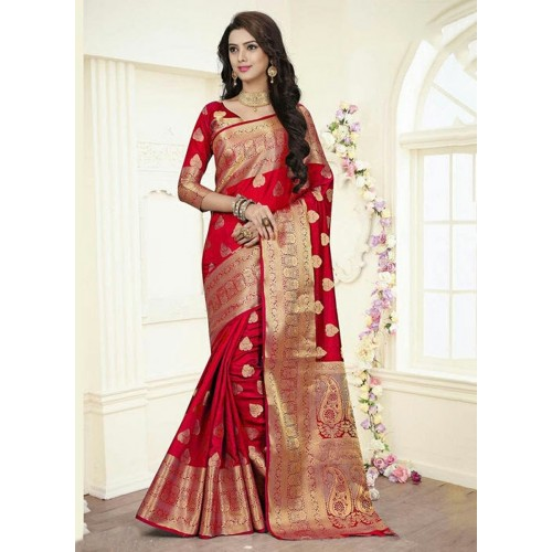 Amazing Banarasi Sarees for Perfect Ethnic Look in a Party