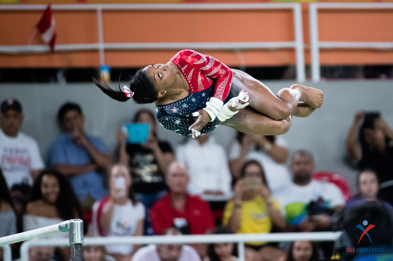 USA Gymnastics: Aug 7 - Women's Qualifications &emdash; Simone Biles