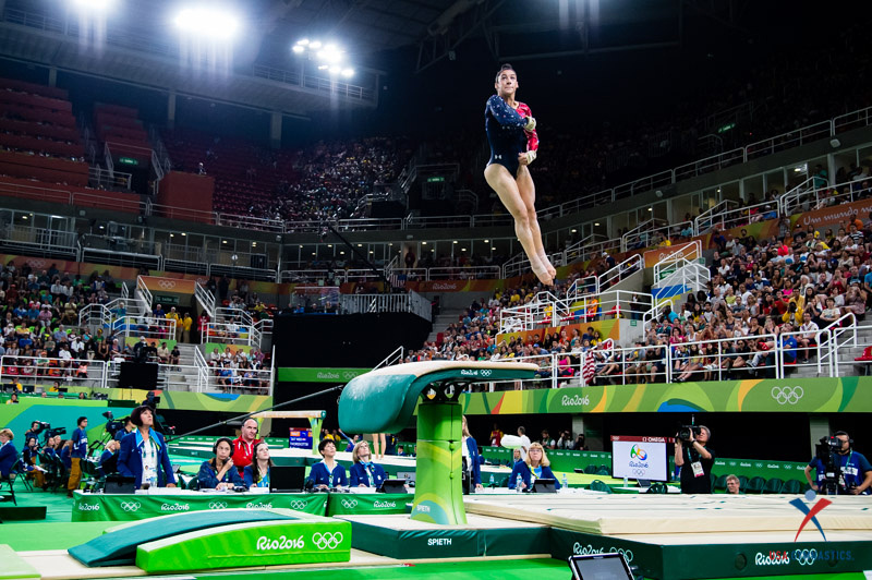USA Gymnastics: Aug 7 - Women's Qualifications &emdash; Aly Riasman