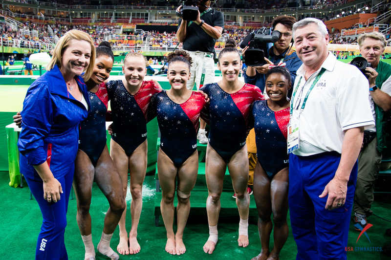 USA Gymnastics: Aug 7 - Women's Qualifications &emdash;