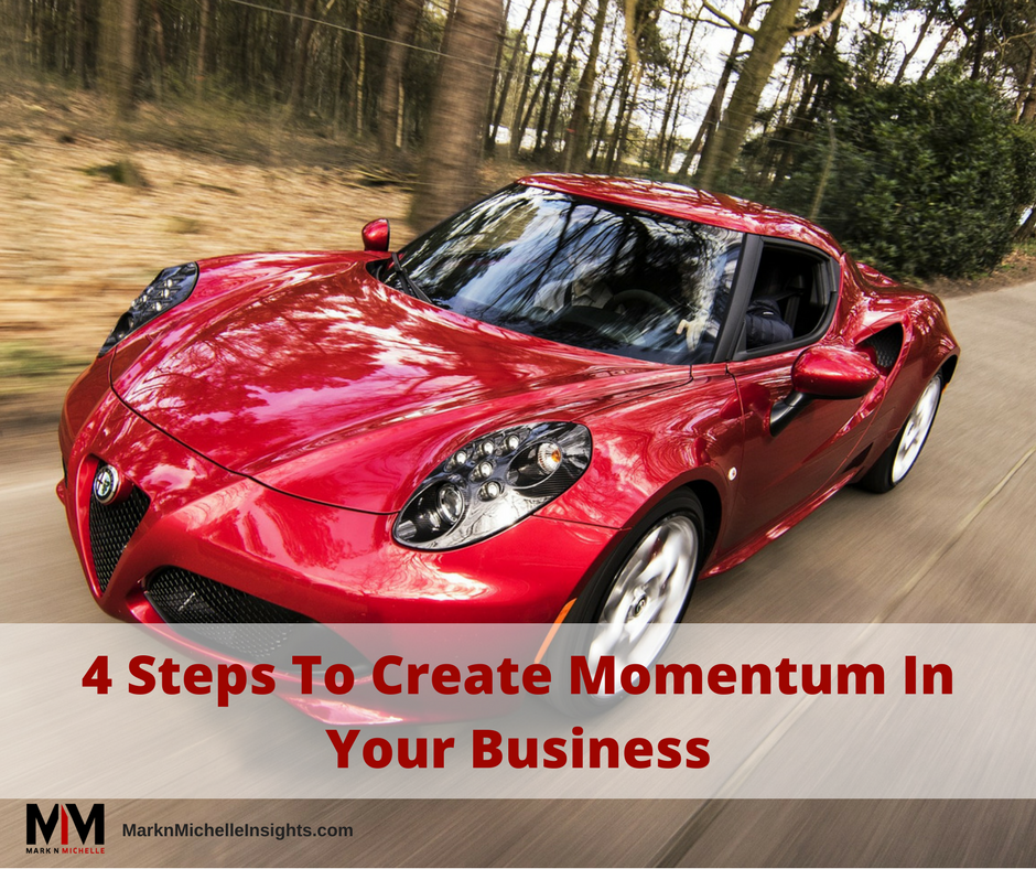 4 Steps To Create Momentum In Your Business